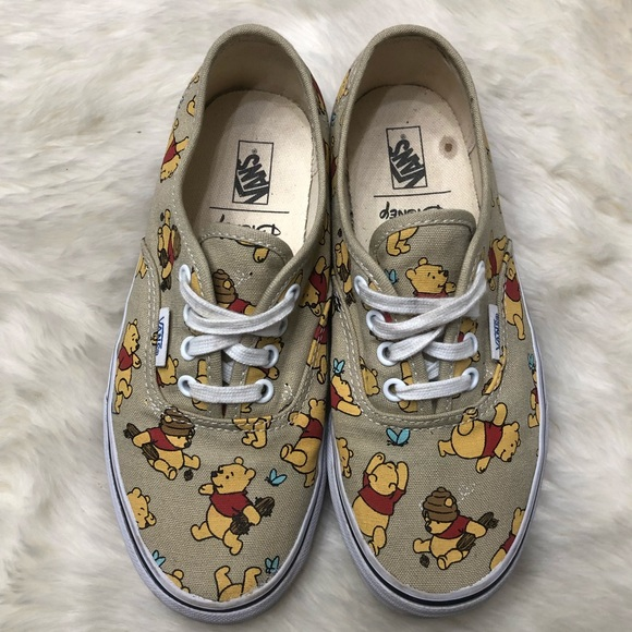 9e31663cb55ef6 Disney x Vans Authentic Winnie the Pooh Shoes